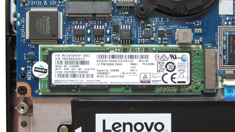 Lenovo-YOGA-720-13IKB M.2-SSD-Modul