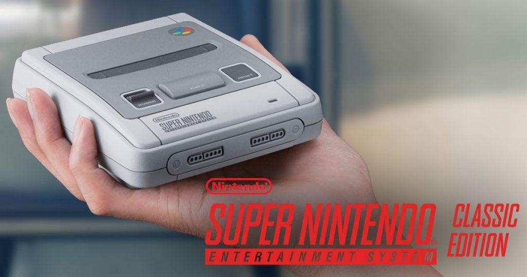 Nintendo SNES Classic Mini bekommt eine Rewind-Funktion