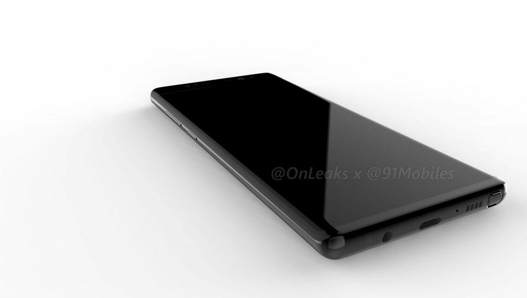 Renderbilder: So könnte das Galaxy Note 8 aussehen