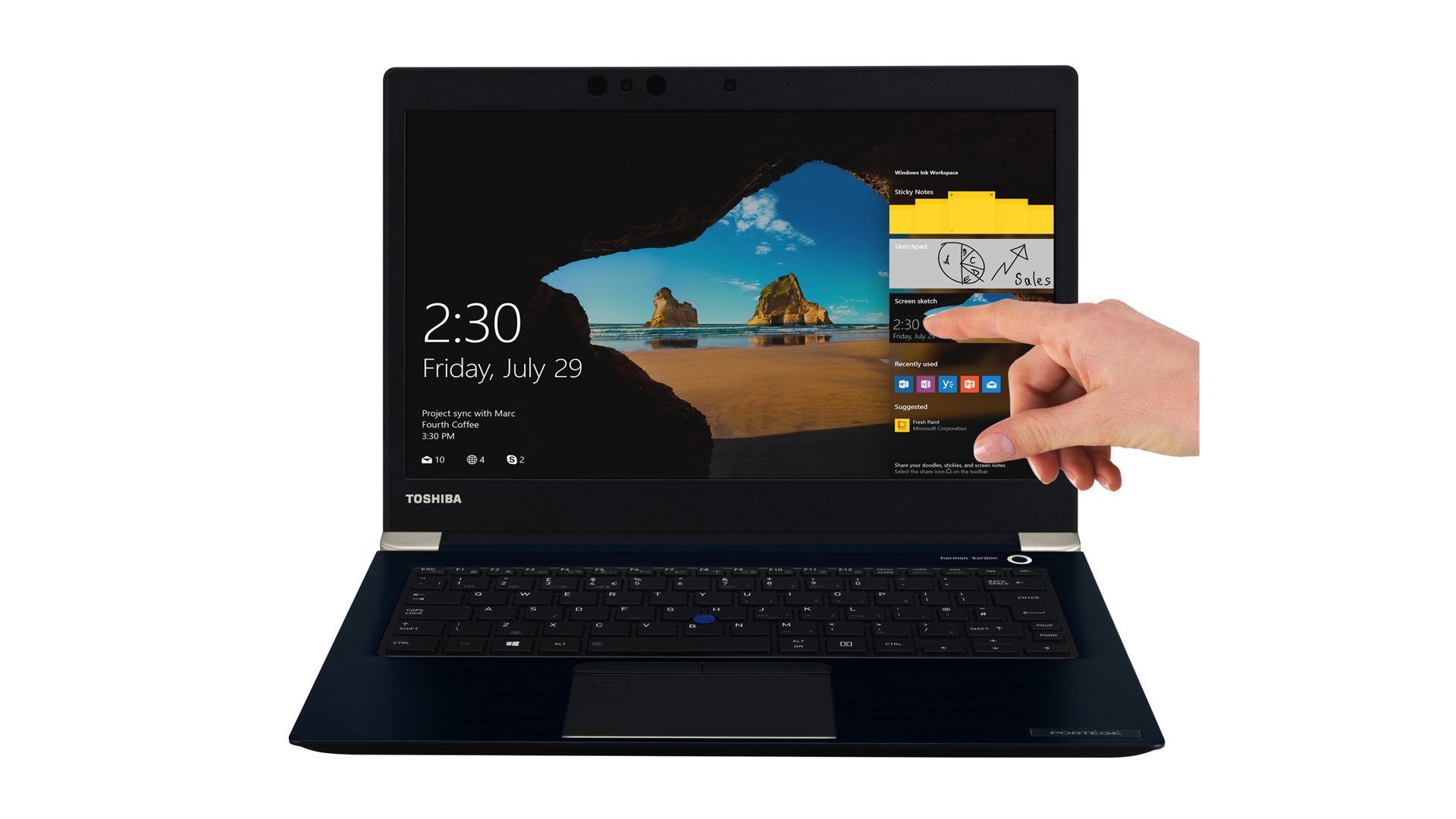 Toshiba Portégé X30-D-123 Ultrabook Ansicht_6