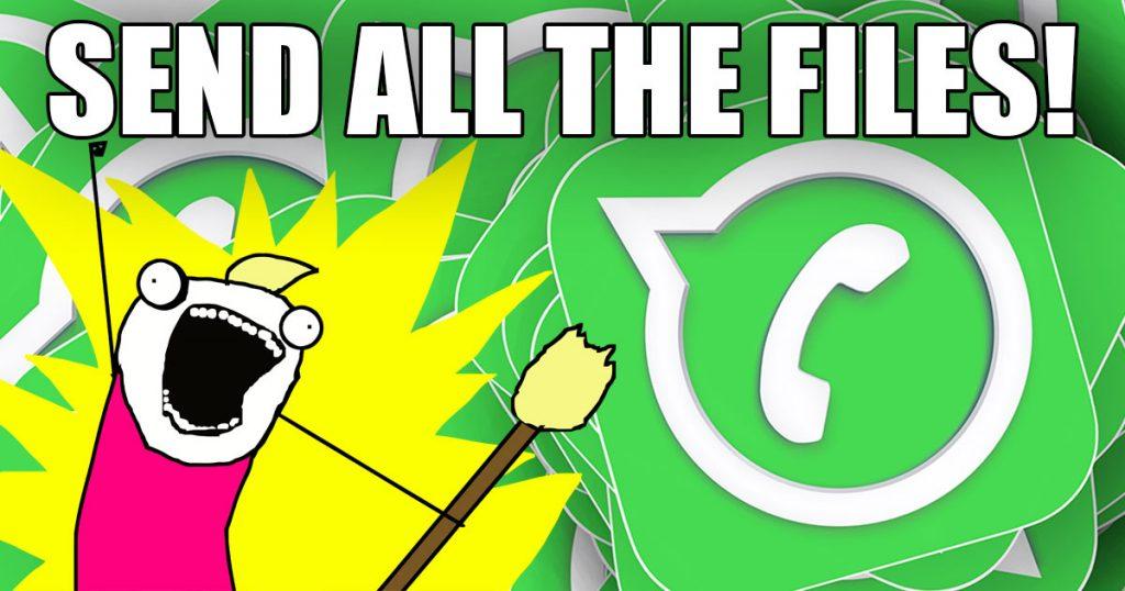 WhatsApp: Jetzt alle Dateitypen versenden