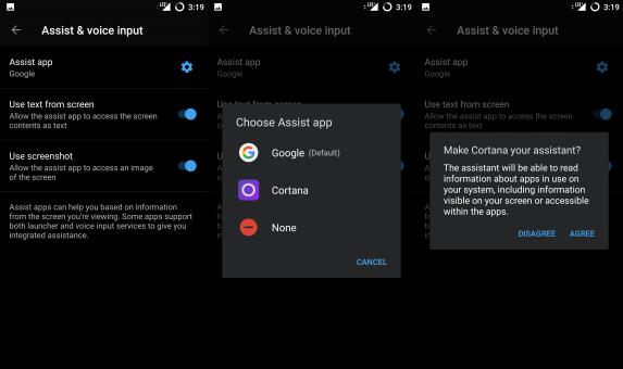Cortana unter Android einrichten