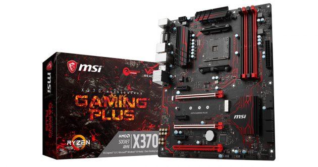MSI X370 GAMING PLUS Mainboard