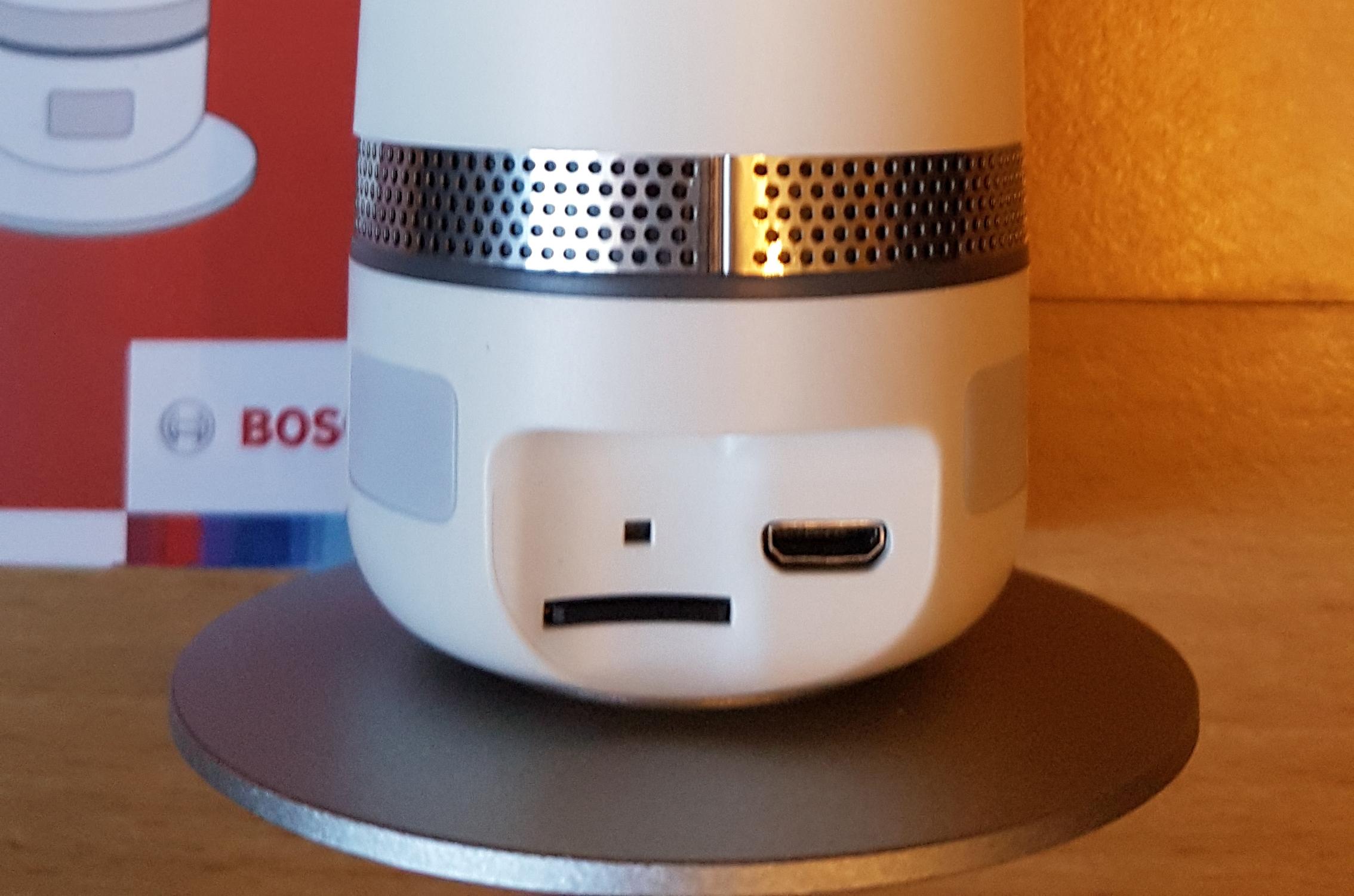 Test: Bosch Eyes Außenkamera + 360° Innenkamera [Tester gesucht]