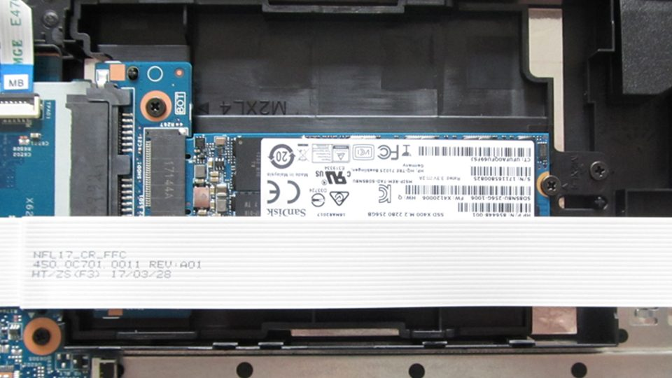 M.2 SSD-Modul