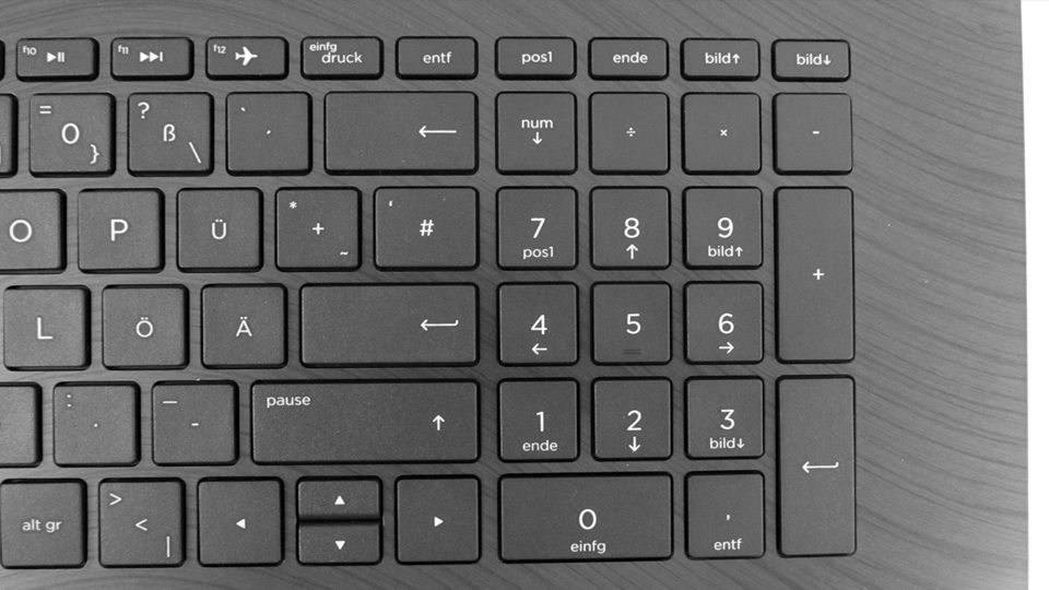 HP 17-ak029ng – Tastatur_3