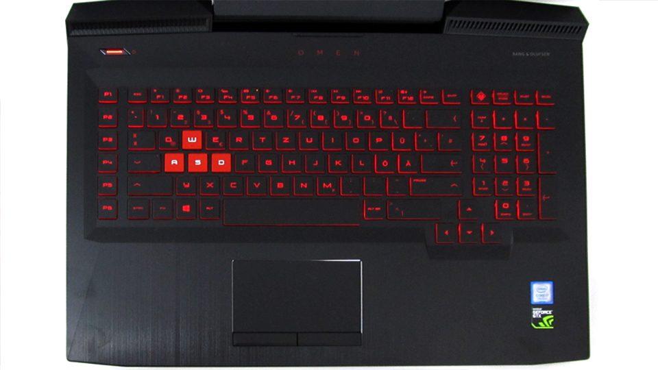 HP OMEN 17-an016ng Tastatur_1