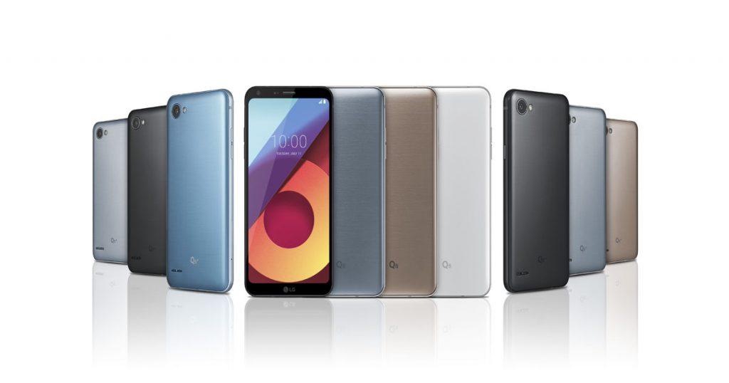 Offiziell vorgestellt: Neue Mittelklasse-Smartphones LG Q6+, LG Q6 und LG Q6α