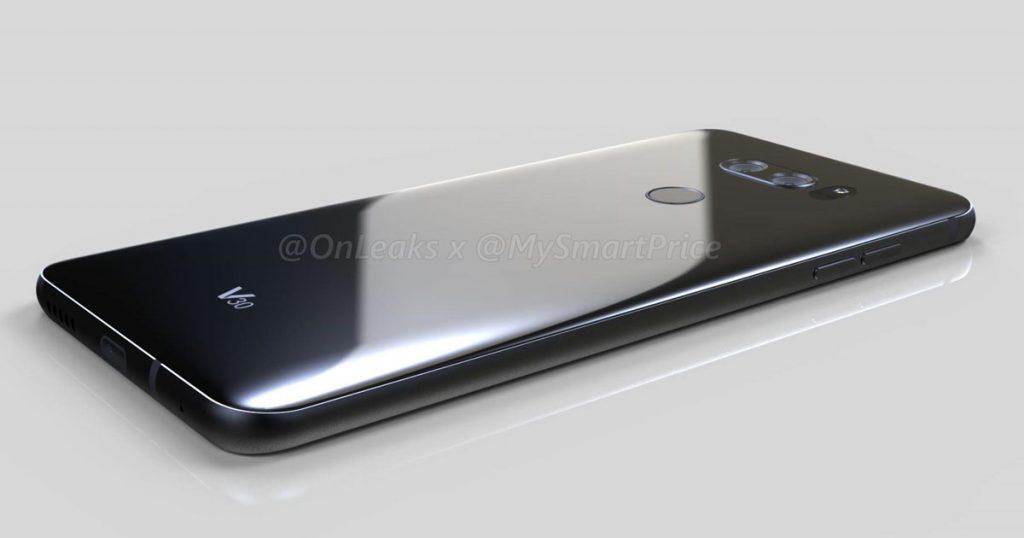 Mock-up: Sieht so das LG V30 aus?