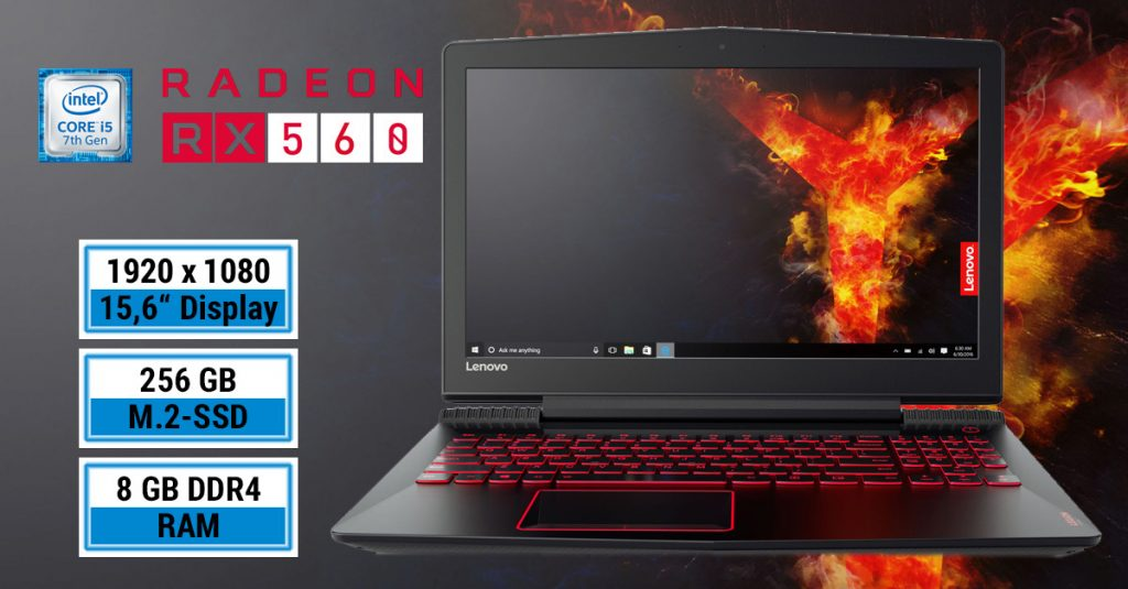 Lenovo Legion Y520-15IKBA – Multimedia-Notebook mit Gaming-Ambitionen im Test