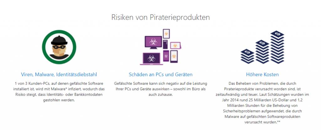 Microsoft Windows: Gefälschte Software erkennen und vermeiden