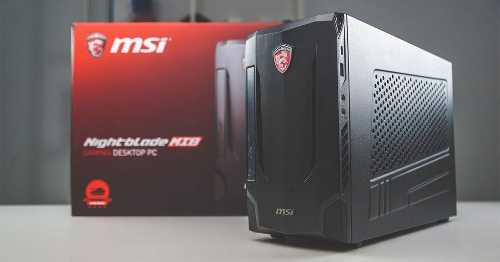 Test: MSI Nightblade MIB VR7RC-244DE – kompakter, solider Gaming PC