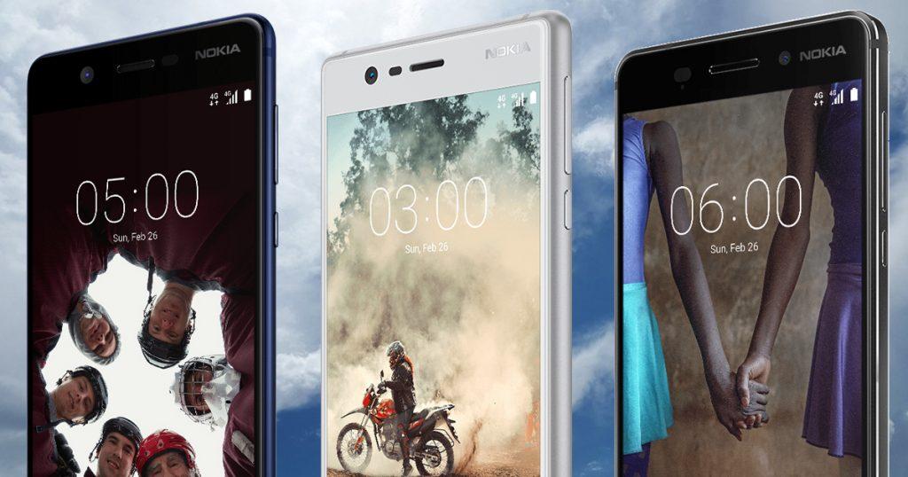 Offizielle Release-Termine und Preise für Nokia 3, Nokia 5 und Nokia 6 in Deutschland!
