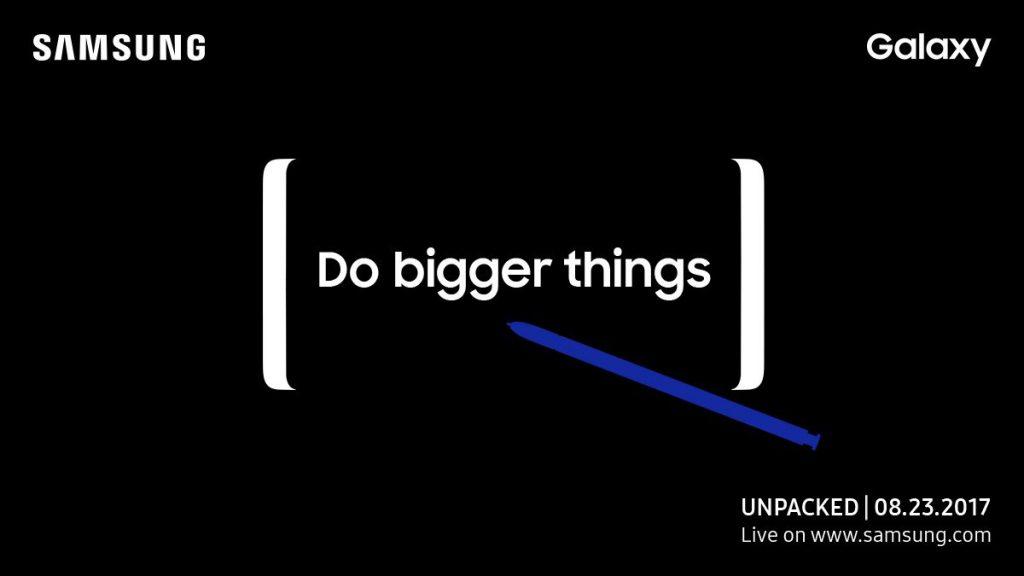 Galaxy Note 8: Vorstellung am 23.08.2017