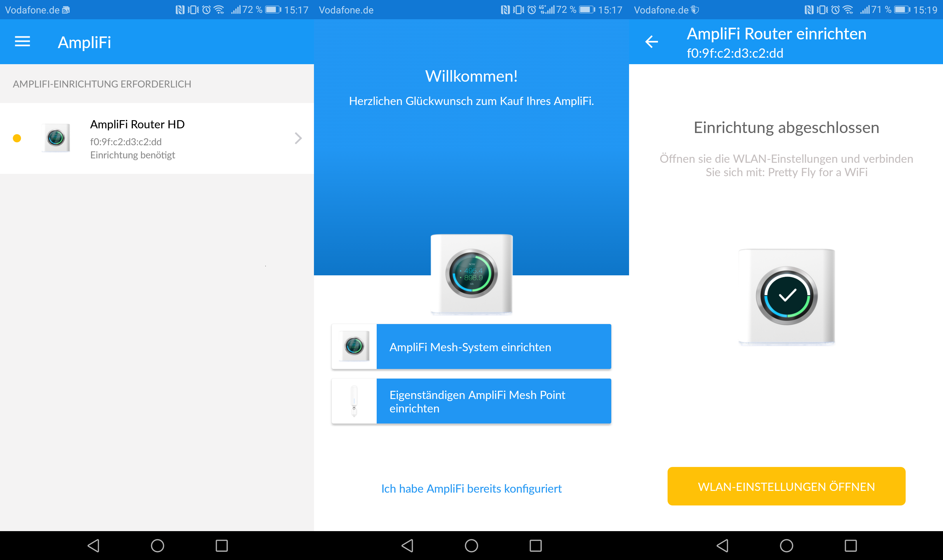 Ubiquiti AmpliFi HD im Test – dieses Mesh System geht App