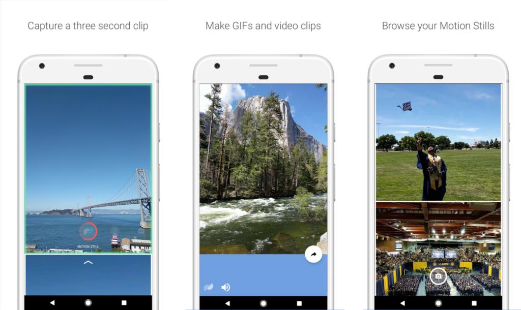 Google Motion Stills: Endlich auch auf Android