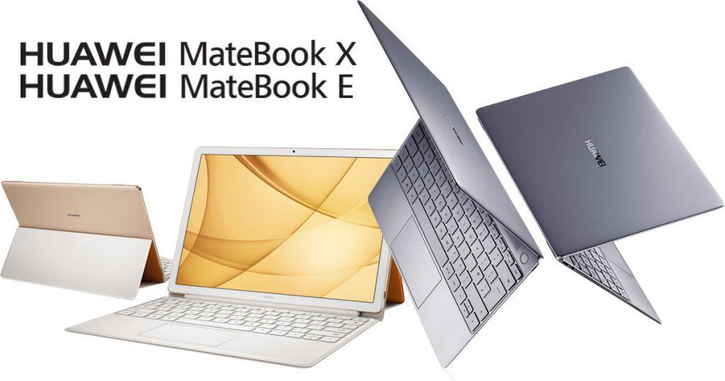 Huawei MateBook X und MateBook E ab sofort bestellbar!