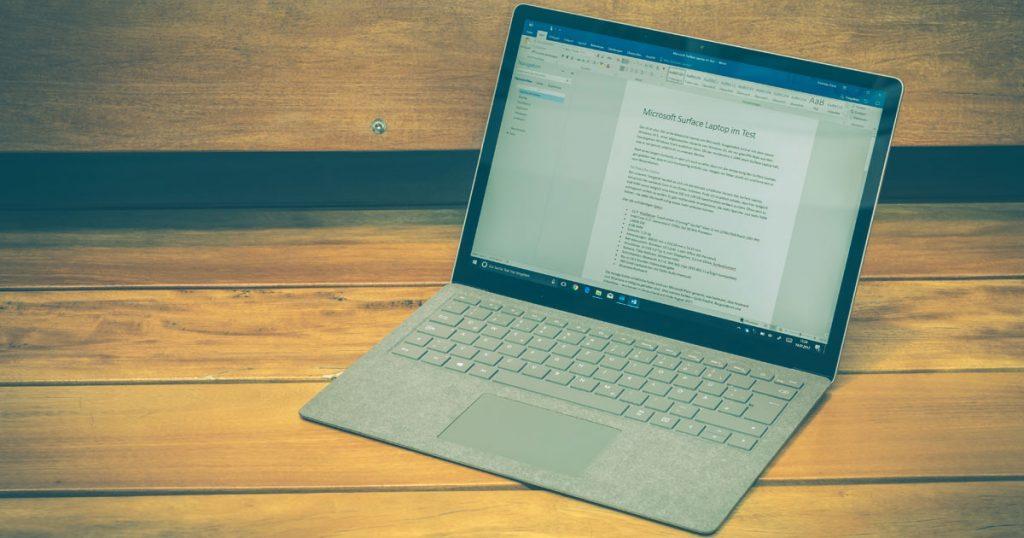 Kompakt, leicht & ausdauernd: Microsoft Surface Laptop im Test