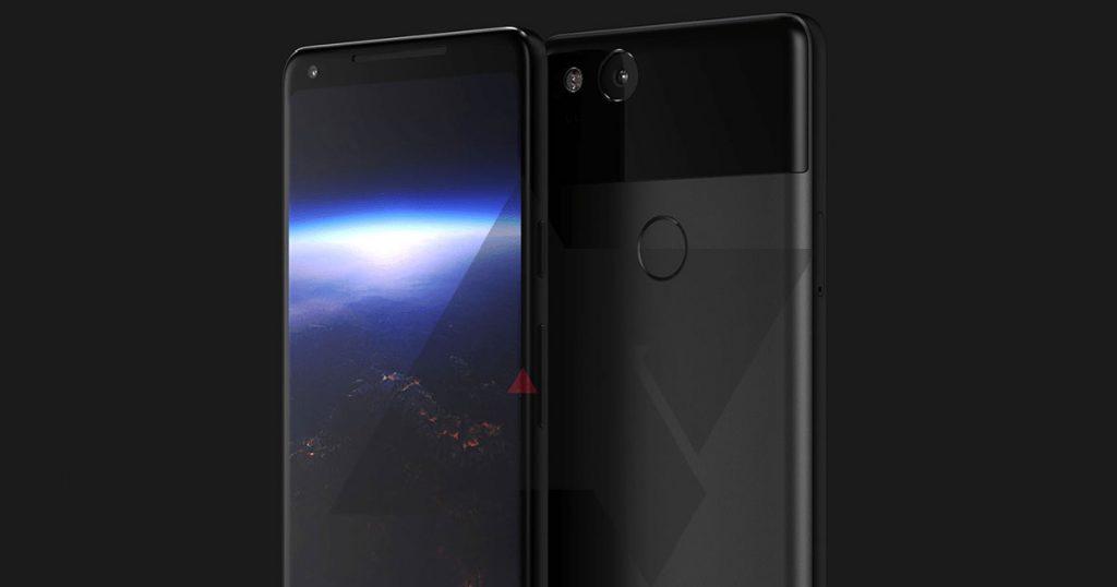 So soll das neue Google Pixel XL 2 Smartphone aussehen!