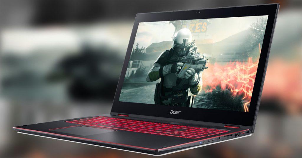 Flach, aber mit Power: Acer Nitro 5 Spin Convertible auf Gamescom 2017 vorgestellt