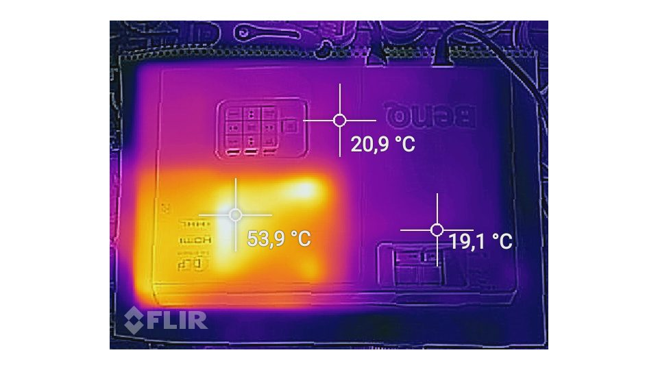 Benq MH741 Hitze_1