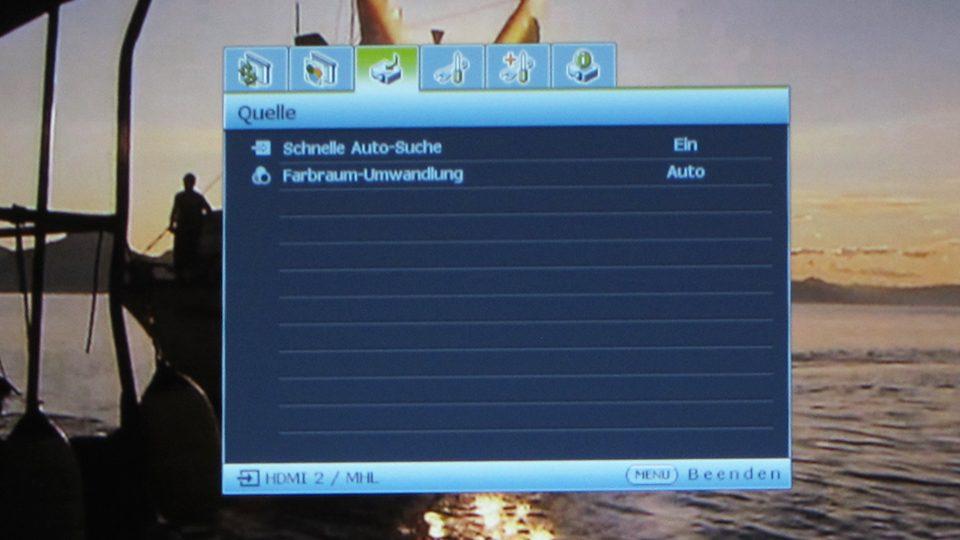 Benq MH741 Settings_3