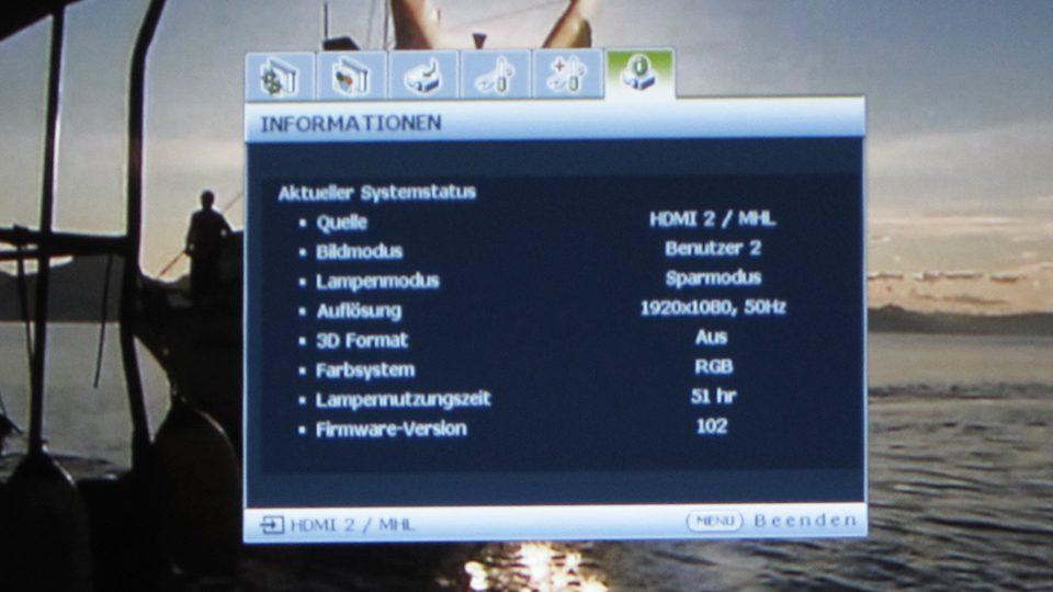 Benq MH741 Settings_6