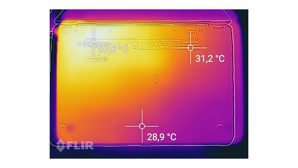 HP Elitebook 1030 Hitze_2