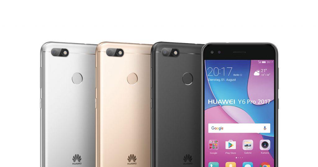 Huawei Y6 Pro 2017 vorgestellt