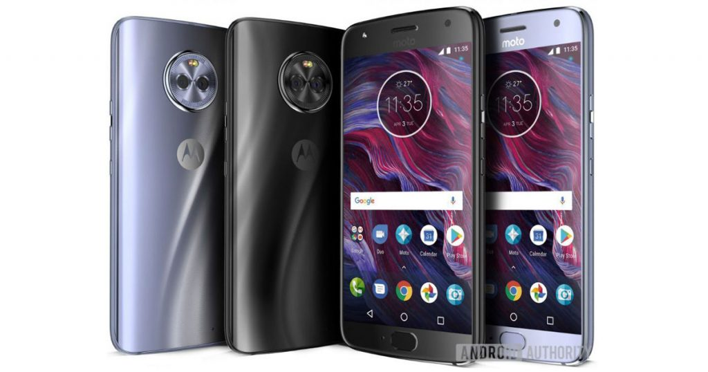 Bilder zeigen das Motorola Moto X4 von allen Seiten