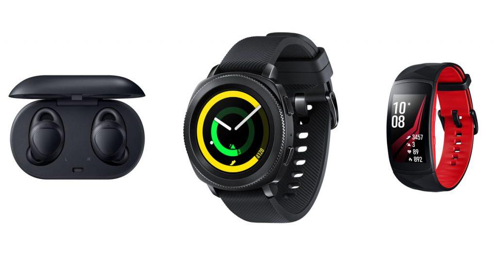 Samsung Gear Sport, Fit2 Pro und IconX 2018: neue Wearables auf der IFA 2017 vorgestellt