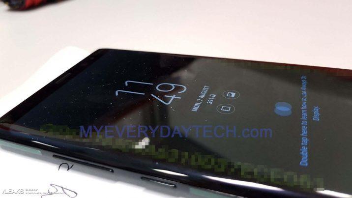 Fotos des Samsung Galaxy Note 8 aufgetaucht