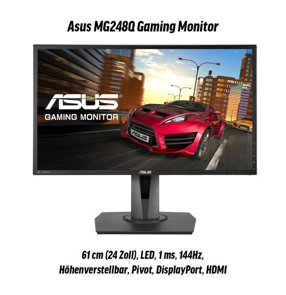 gaming special asus monitor
