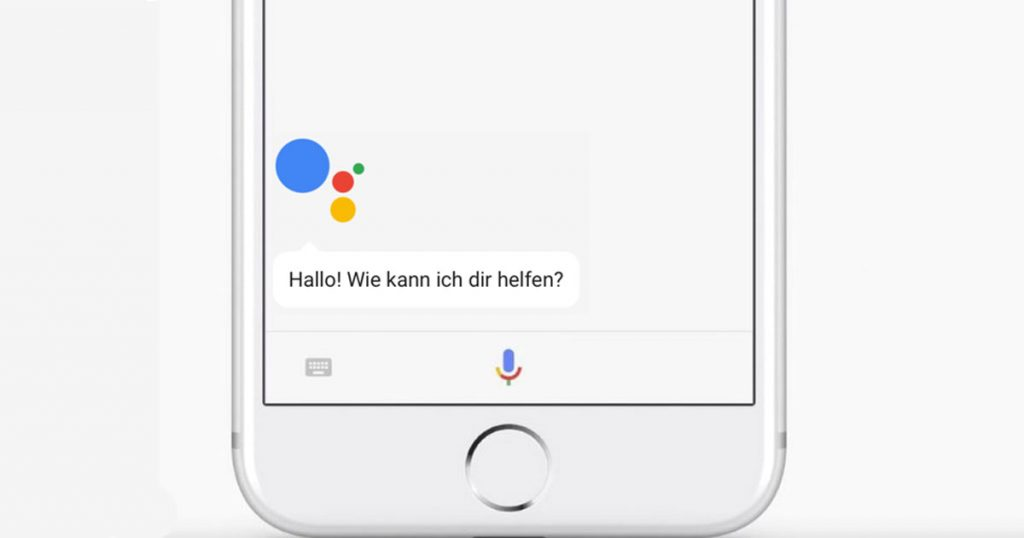 google assistant f r iphone endlich auch in deutschland. Black Bedroom Furniture Sets. Home Design Ideas