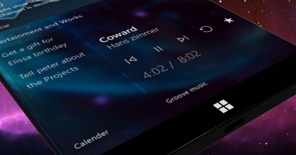 Wunderschönes Konzept: Surface Phone mit Fluent Design