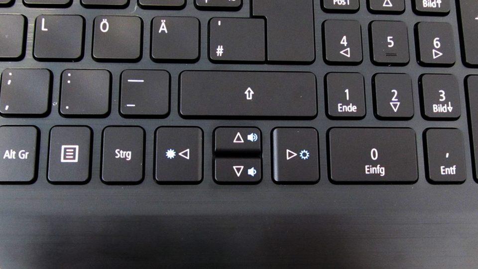 Acer Aspire 7 A717-71G-721V Tastatur_4