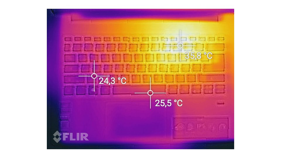 Acer Swift 1 SF113-31-P63H Hitze_1