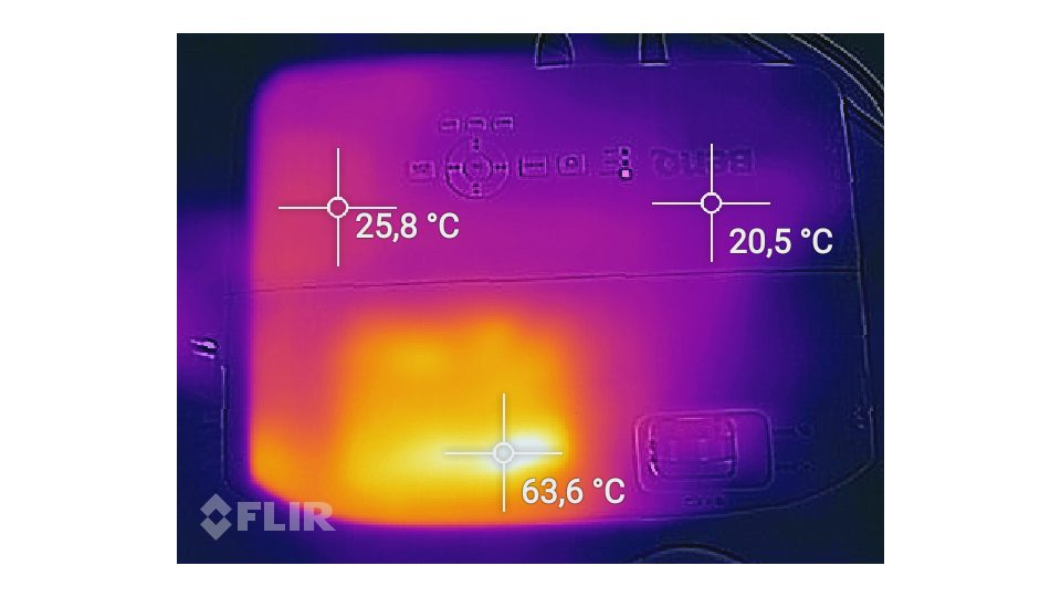 BenQ W1050 Hitze_1
