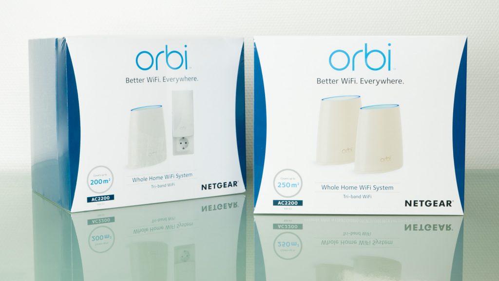 Lesertest: Netgear Orbi Mesh WiFi System
