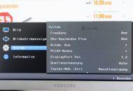 Samsung-C27H711 Menü