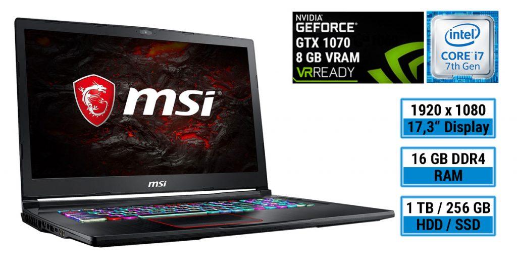 Test: MSI GE73VR 7RF-039 Raider – Gaming-Notebook mit vielen Lichteffekten