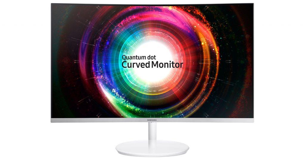"Samsung C27H711: 27"" curved Multitalent Monitor"