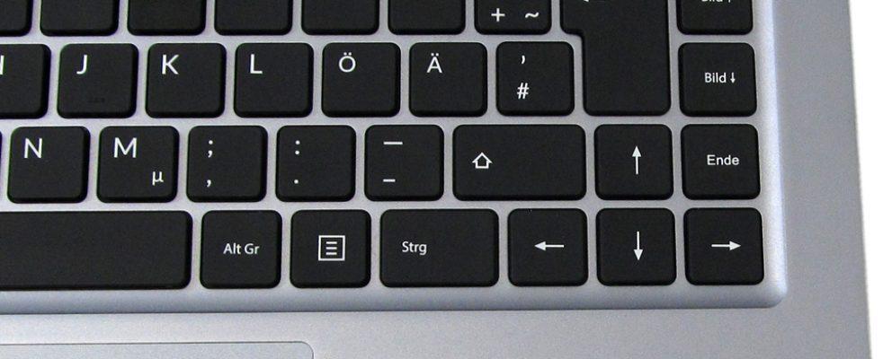Schenker VIA 14 Tastatur_4
