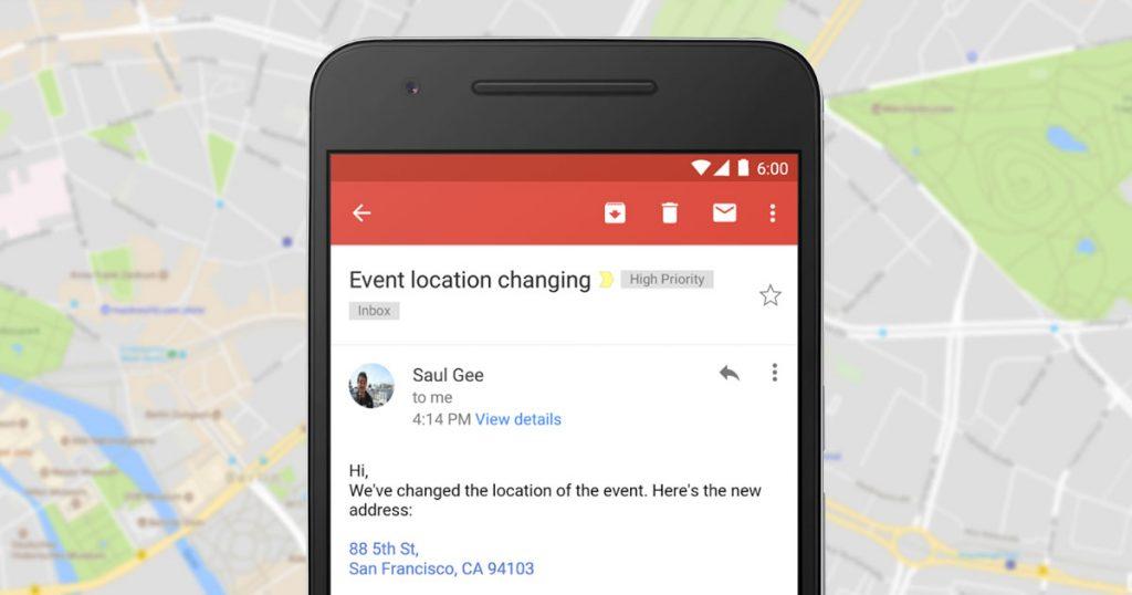 Google: Telefonnummern & Adressen in Inbox & Gmail direkt anklicken