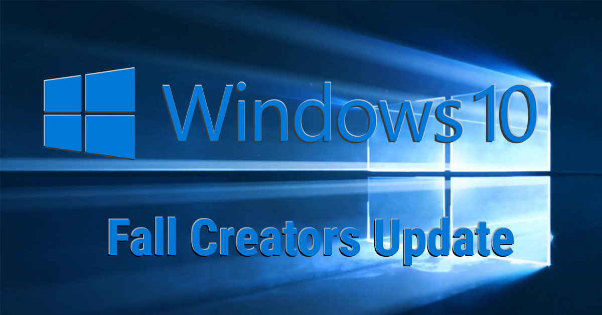 how to update windows 10 manually to fall creators update