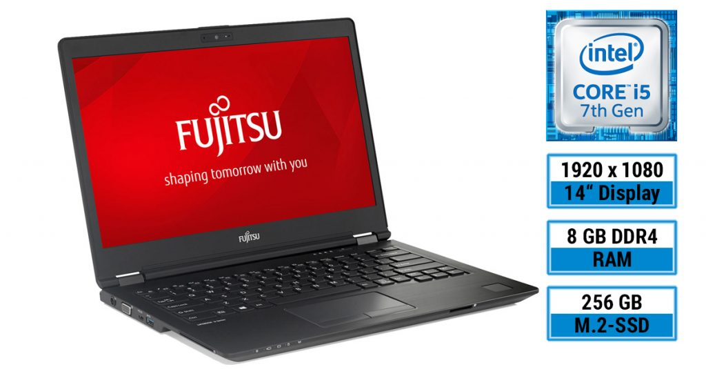 Fujitsu LIFEBOOK U747 – Ultrabook mit sehr hellem 14-Zoll-Display im Test