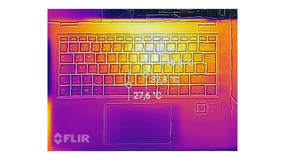 HP EliteBook x360 1030 G2 Hitze_1