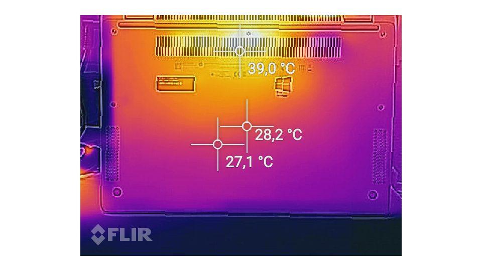 HP EliteBook x360 1030 G2 Hitze_2