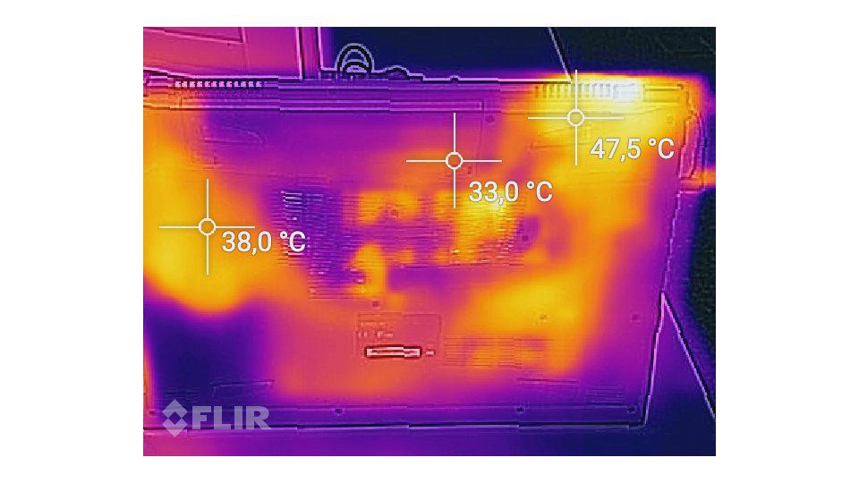 SCHENKER XMG A707-nyd Hitze_2