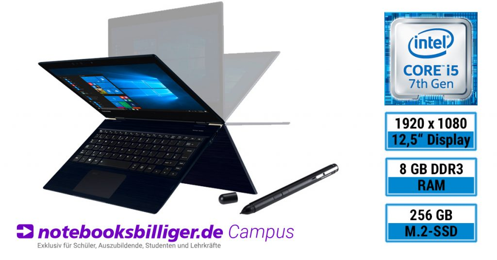 Test: Toshiba Portégé X20W-D-14G im Campus-Programm für 999 €
